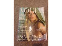 October 2008 Vogue Kate Moss