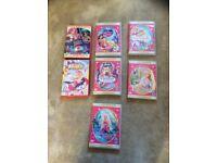 Bundle of barbie dvds.