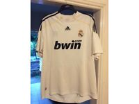Adidas football Real Madrid tshirt xlarge