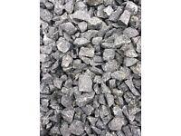 20 mm Nevis grey garden and driveway chips/ gravel/stones