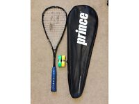 BARGAIN!!! Prince O3 Pro Tour Black Squash Racket