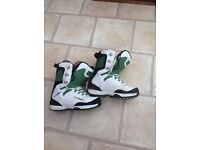 Snowboard Boots size 9 , make thirty two