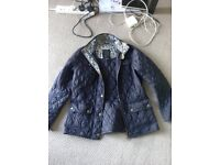 Womens Quilted Barbour Jacket - William Morris Edition - Size 12