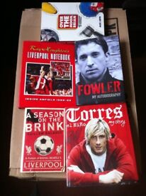 Football Biography Books Liverpool Fan Reference