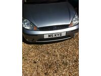ford focus for spares or repair with m5 kys registration plate