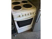 white electric cooker 50cm....cheap Free delivery