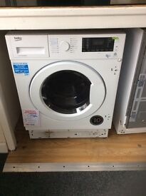 Intergrated washing machine new no package 12 mth gtee £225