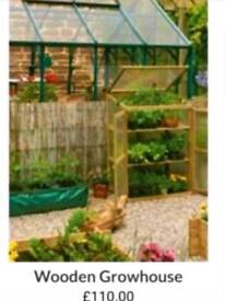 New unused New boxed outdoor greenhouse perfect for decking or balcony
