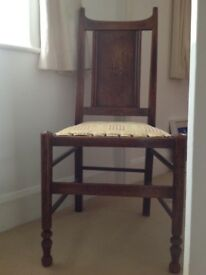 vintage / gothic/ antique - oak dining chairs