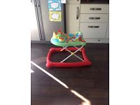 Mothercare Disco Baby Walker suitable for girls or boys in excellent condition