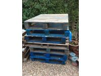 Pallets good condition, £10 for lot.