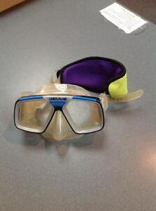 Cressi-sub snorkel goggles -blue/black/clear (sku: Z15168)
