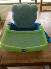 Foldaway Chicco booster seat