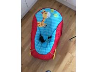 Baby bouncer seat (sturdy) excellent condition