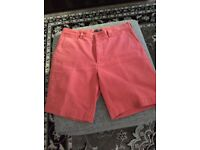 Men's Ralph Lauren shorts waist 34""