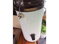 White Creda Debonair Cylinder Tumble Dryer