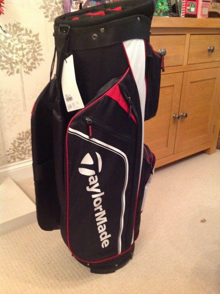 1ab5319f46d1 Taylor made pro cart golf bag black white red in fair oak JPG 765x1024 Cart  amazon