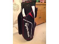 Taylor Made pro cart 4.0 golf bag black/white/red BNWT