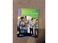 CfE Higher English Close Reading and Critical Reading Textbooks