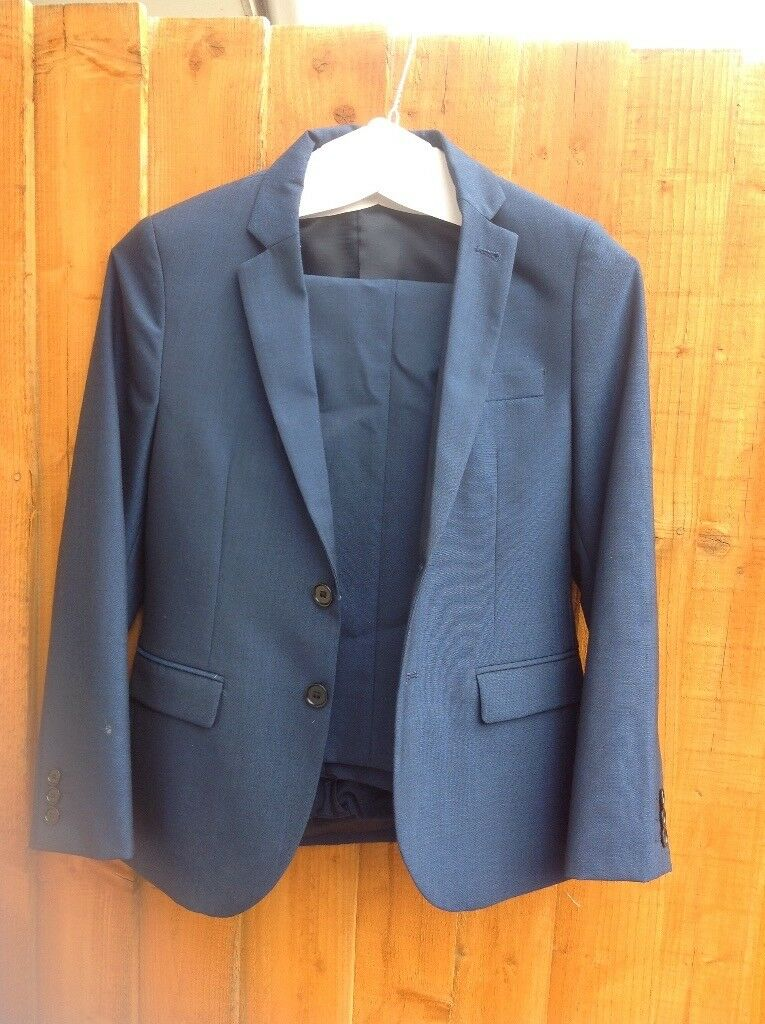 a0eaa1809862 Boys Blue Suit From Next. Little Stoke ...