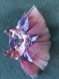 Build a bear pink ballet dress & slippers