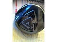 Set of Callaway Razx X Woods plus set of Tad Moore Irons all in Ex/con.