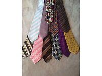 X11 men's ties various