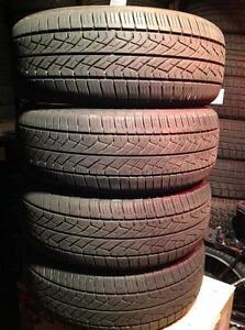 4 pneus 225/55 r17 d'été Yokohama geolandar g95.   250$