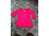 BNWT Pink top Size S