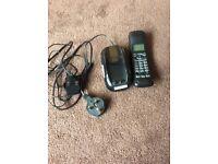 Black landlines house phone