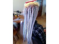 Box braids/Faux locs /cornrow /closure weave hair extension /Afro caribbean/Caucasian hair braiding