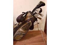 Hippo golf club full set irons & drivers & bag
