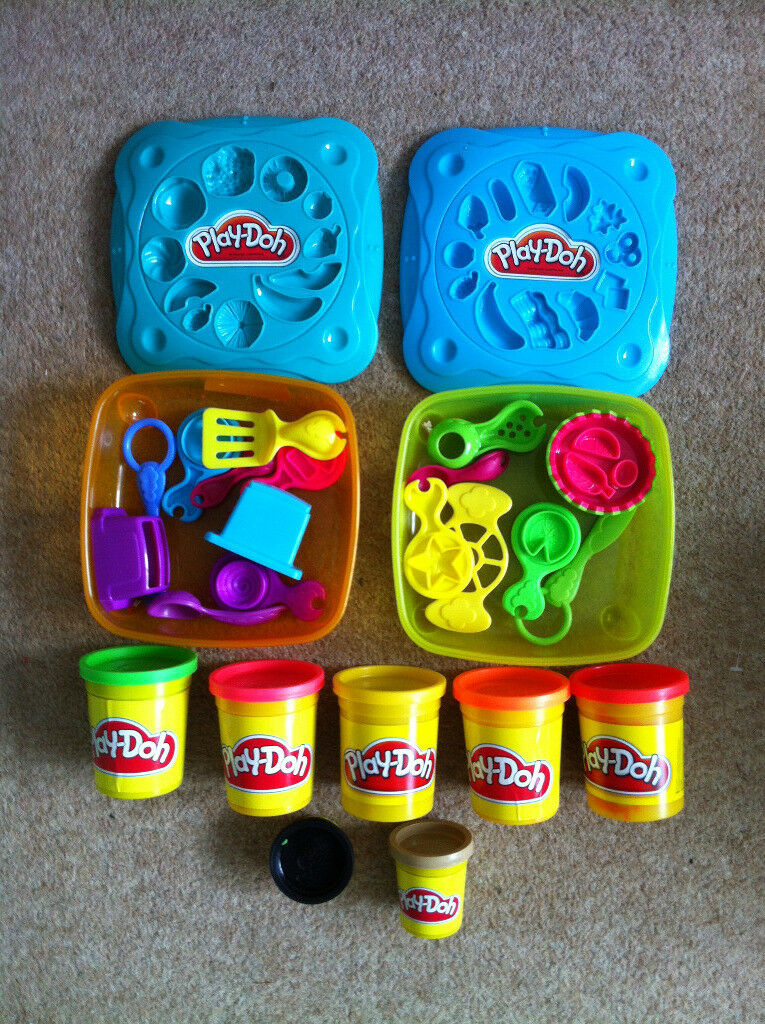 Playdoh, Playdoh Moulds and Cutters