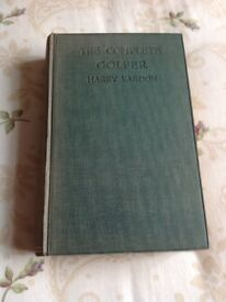 The Complete Golfer . 18th Edition . 1922 by Harry Vardon.