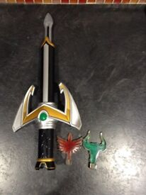Power Rangers Mystic Force Sword-lightening Thrower-thorn thrower