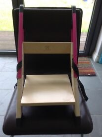 Handisitt booster seat high chair (pink)