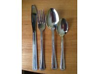 Cutlery 60 place settings