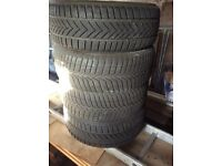 Winter tyres 205/55R16 (4 off) - Vredestein Stowtrac - hardly worn