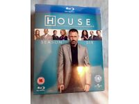 BRAND NEW BLUE-RAY DVD BOX SET OF HOUSE, MD; GENUINE LOW PRICE!