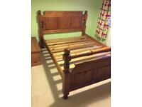 Pine bed frame 5ft