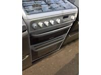 hot point gas cooker white..60cm....free delivery