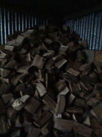 Firewood hardwood split logs