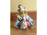 Italian porcelain figurine of a lady