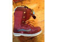 Vans snowboard boots UK Size 8.5