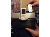 sony music system with docking station