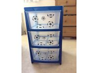 Set of 3 Football Drawers