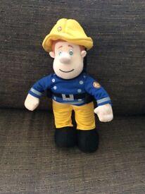 Fireman Sam toy plays music