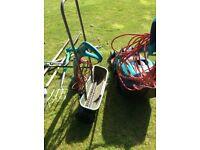 Bosch lawnmower, lawn spreader and garden equipment