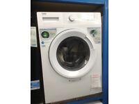 Beko white 8kg 1200spin washing machine. £189. New/graded 12 month Gtee