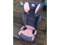Britax car seat, used condition, 15kg to 36kg, adjustable